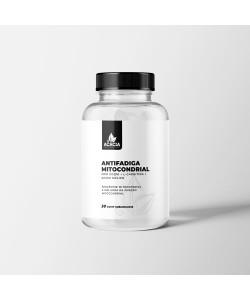 ANTI-FADIGA MITOCONDRIAL com CoQ10 + L-carnitina + Acido Málico (30 comp sublinguais)
