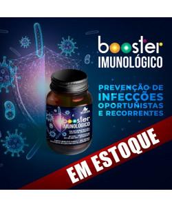 BOOSTER IMUNOLÓGICO - para prevenção de infecções oportunistas e recorrentes (30 doses)