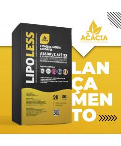 LIPOLESS – Alfaciclodextrina 2000mg 90 sachês - EMAGRECIMENTO SAUDÁVEL