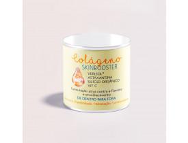 COLÁGENO SKINBOOSTER (Verisol® + Astaxantina + Silício Orgânico + Vit C) - LATA COM 120G (30 DOSES)