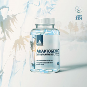 ADAPTOGENIC - Composto Antiestresse Natural (60 doses)