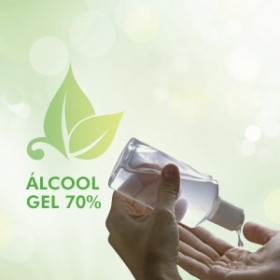 ÁLCOOL GEL 70% - 200ml