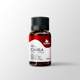 ÓLEO ESSENCIAL DE CANELA DA CHINA 100% PURO (frasco com 10ml)