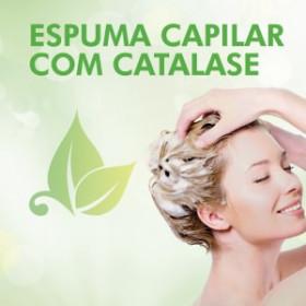 ESPUMA CAPILAR COM CATALASE
