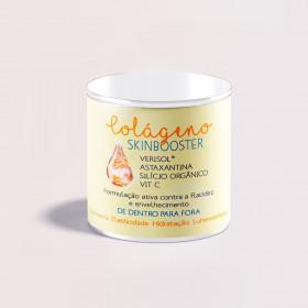 COLÁGENO SKINBOOSTER (Verisol® + Astaxantina + Silício Orgânico + Vit C)