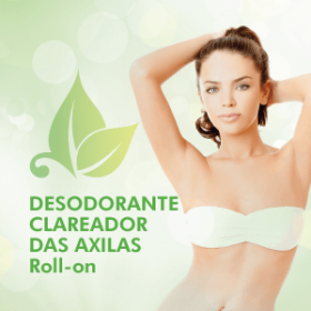 DESODORANTE CLAREADOR DAS AXILAS Roll-on c/ 60ml