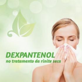 DEXPANTENOL - spray nasal no tratamento da Rinite Seca