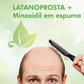 Espuma Capilar com Latanoprosta e Minoxidil para Calvície - 50ml