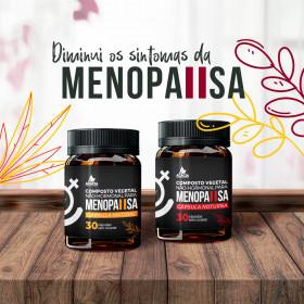 COMPOSTO NÃO-HORMONAL PARA MENOPAUSA (60 cápsulas)