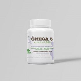ÔMEGA 3 MAMÃE & BEBÊ - para a saúde das gestantes e nutrizes (90 cápsulas)