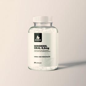 MINOXIDIL ORAL-0,5MG - 30 CÁPSULAS