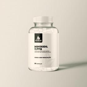 MINOXIDIL ORAL - 2,5mg - 30 Cápsulas