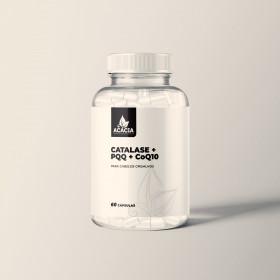 CATALASE + PQQ + CoQ10 - para cabelos grisalhos