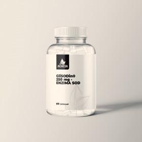 GliSODin® 250mg - ENZIMA SOD - Antioxidante de ação rápida
