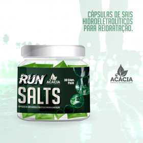 RUN SALTS - Cápsulas de Sais Hidroeletrolíticos para Reidratação em exercícios de resistência